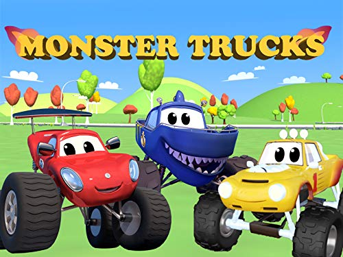 Monster Trucks - Truck Cartoon for Kids on Amazon Prime Video UK