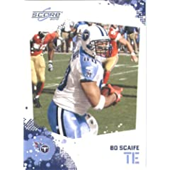 Bo Scaife - Tennessee Titans - 2010 Score Football Card - NFL Trading Card in...