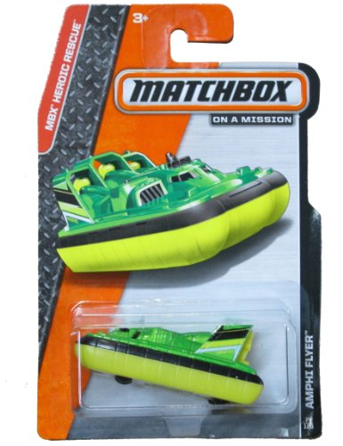 Matchbox on a Mission - MBX Heroic Rescue - Amphiflyer (74/120)