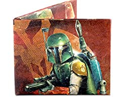 Dynomighty Men's Mighty Wallet Boba Fett On The Hunt, Multi, One Size