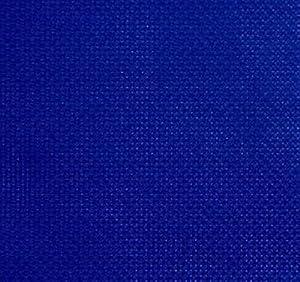 Blue 14ct Counted Cotton Aida Cloth Cross Stitch Fabric 19x19 Inch