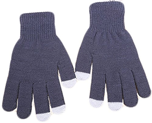 voglee-soft-touch-screen-gloves-texting-capacitive-smart-phone-knit-mitten-one-size-dark-gray