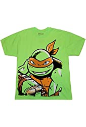 Teenage Mutant Ninja Turtles Michelangelo Little & Big Boys T-Shirt