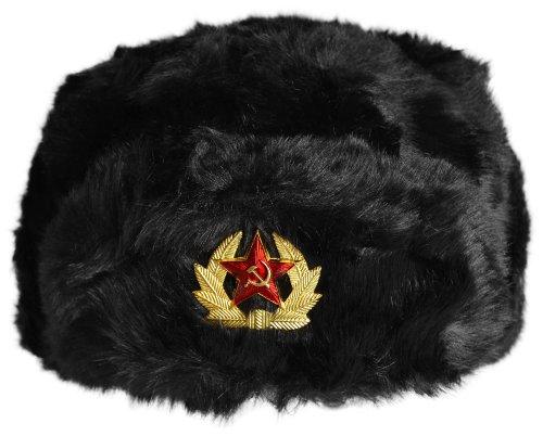 Russenmütze Tschapka mit Kokarde Stern Größe