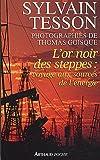 echange, troc Sylvain Tesson - L'or noir des steppes : Voyage aux sources de l'énergie
