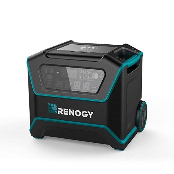 Renogy Lycan Powerbox-Portable Outdoor 1075WH Solar Power Generator (Tamaño: Lycan Powerbox)