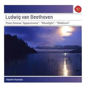 Beethoven: Klaviersonaten Appassionata, Mondschein, Waldstein