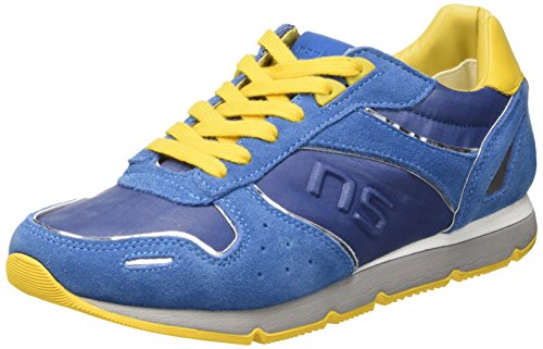 North Star 8439635 Scarpe Low-Top, Uomo, Blu, 43
