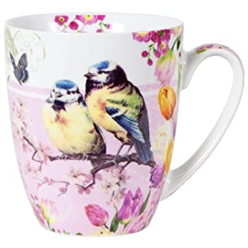Vintage Robins Mug