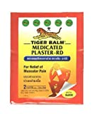 Tiger Balm Patch Plaster Warm Medicated Pain Relief 7 X 10 Cm 15 Packs.