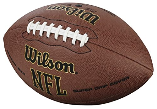 Wilson NFL Super Grip Official American Football Outdoor Ball Game leathercover! (Lonesome Cowboy Costume)
