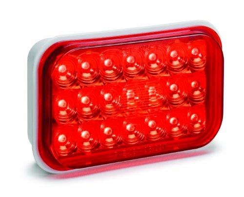"Kc Hilites 1008 Led 5"" Red Rectangular Tail/Brake Light"