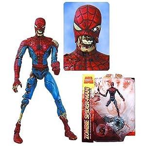 marvel zombies spider man action figures marvel select toys toys games. Black Bedroom Furniture Sets. Home Design Ideas