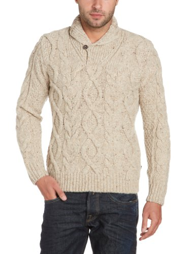 Marina Yachting Men's 220279311401 Sweater Beige (Beige 288) 48