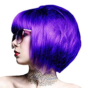 Crazy Color Coloration Pour Cheveux Semi-Permanente 100ml (Violet)