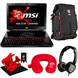 "MSI GT80S TITAN SLI (i7-6820HK, 64GB RAM, 128GB SATA SSD + 1TB HDD, NVIDIA GTX 970M SLI 12GB, 18.4"" Full HD, Windows 10) Gaming Notebook"