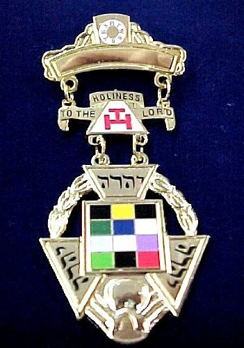 York Rite Past High Priest Masonic Small Jewel