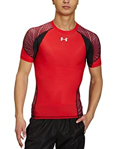 Under Armour Herren T-Shirt Ca Warp Speed, rot (red/blk), LG, 1234466