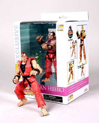 Picture of Wizard Entertainment ToyFare Exclusive Street Fighter: Dan Hibiki Action Figure Limited to 2,500 (B000UPP67M) (Wizard Entertainment Action Figures)