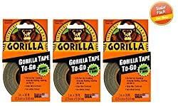Gorilla Tape To-Go, 3 Pack