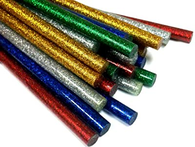 Mini Color Glitter Glue Sticks