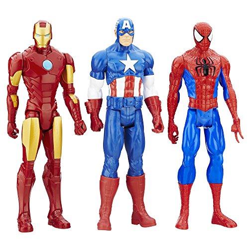 Marvel Titan Hero Series 3-Pack (Marvel Heros Toys compare prices)
