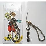"3"" Kingdom Hearts Metal Key Blade Phone Charm Strap #12 ~Cosplay~"
