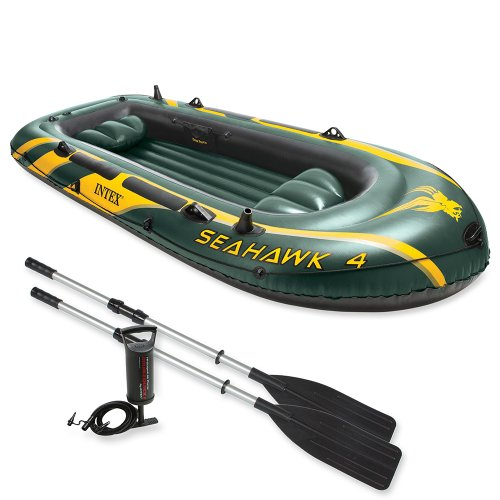 Intex Sehawk 4 Boat Set