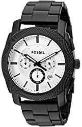 Fossil FS5092 Machine Chronograph Black Stainless Steel Watch