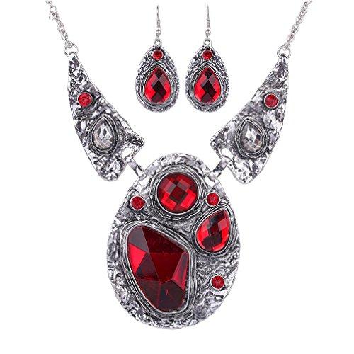 honghu-big-red-etnico-turquesa-relieve-plateado-babero-collar-pendientes-collar-joya-de-la-mujer