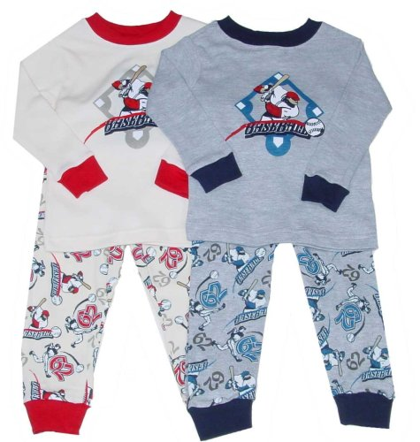 Little Boys' Baseball Pajamas - Buy Little Boys' Baseball Pajamas - Purchase Little Boys' Baseball Pajamas (French Toast, French Toast Sleepwear, French Toast Boys Sleepwear, Apparel, Departments, Kids & Baby, Boys, Sleepwear & Robes, Boys Sleepwear, Pajamas, Boys Pajamas)