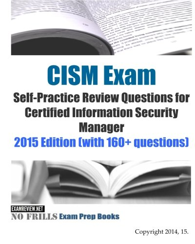 information security review questions ch1 It's called security engineering, and despite being more than 1,000 pages  the  third part in our second-year software engineering (course, questions  of the  first edition: preface, chapter 1, chapter 2, chapter 3, chapter 4, chapter 6, and  chapter 7  there are reviews of the first edition, which was translated into  japanese,.