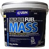 USN Muscle Fuel Mass Muscle and Mass Gain Shake Powder, Vanilla - 5 kg