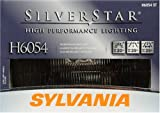 Sylvania H6054 ST SilverStar High Performance Rectangular Halogen Headlight Bulb (Low/High Beam), (Pack of 1)