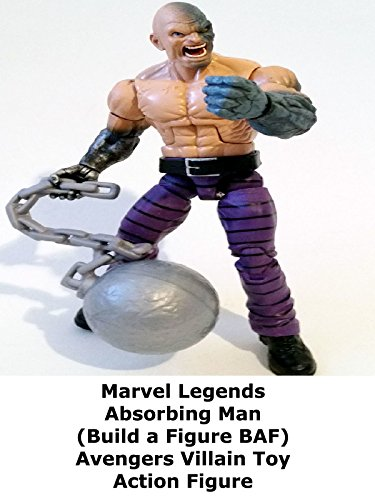 Review: Marvel Legends Absorbing Man (Build a Figure BAF) Avengers Villain Toy Action Figure