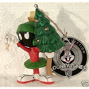 "Marvin the Martian Porcelain Ornament ""Aim for the Stars"" By Goebel"
