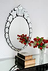 Wall Mirror VDS-18 (Silver, 29X18 inches)