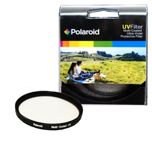 Polaroid Optics 46mm Multi-Coated UV Protective Filter