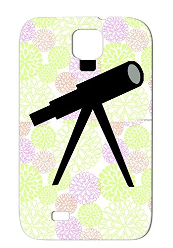 Star Gazing Symbols Shapes Telescope Planets Miscellaneous Astronomy Tpu Gray Case Cover For Sumsang Galaxy S4 Telescope, Astronomy,