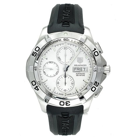 TAG Heuer Men's CAF2011.FT8011 Aquaracer Automatic Chronograph Rubber Strap Watch