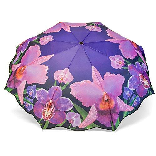parapluie-pliant-femme-a-motif-fleurs-orchidees