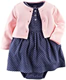 Carter's Baby Girls' 2 Piece Geo Print Dress Set (Baby) - Pink - Newborn Size: Newborn Color: Pink, Model: 1195774baby-girls, Newborn & Baby Supply