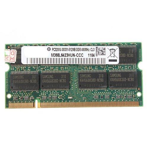 512MB DDR- 400 PC3200 KIT taccuino del computer portatile (
