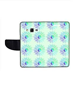 KolorEdge Printed Flip Cover For Samsung Galaxy Win 2 Multicolor - (1476-45KeMLogo12248SamWin2)