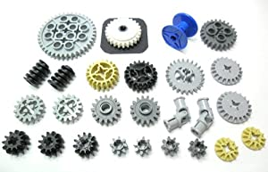 LEGO TECHNIC - Gearwheel-Set - 27 pieces - New Product without original packaging.