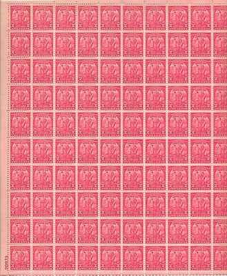 Arbor Day 1872-1932 Sheet of 100 x 2 Cent US Postage Stamps NEW Scot 717