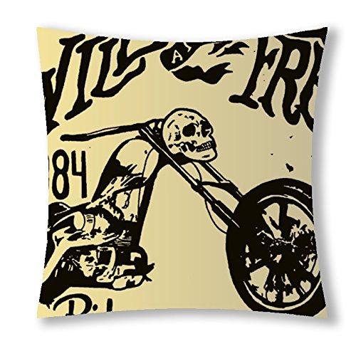 Little Sun 98 Vintage Skull Motorcycle Decorative