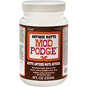 Plaid Mod Podge CS12948 8-Ounce Antique Matte