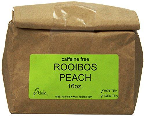 Hale Tea Rooibos, Peach, 16-Ounce