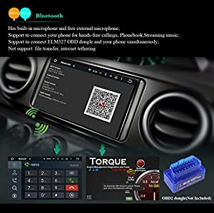 JOYING 7 Latest Android 5.1 Lollipop Double 2 Din Car Stereo Quad Core 1024*600 Head Unit Bluetooth Touch Screen GPS AM/FM Radio Receiver Support Steering Wheel/Backup Camera/4g/WiFi/1080p